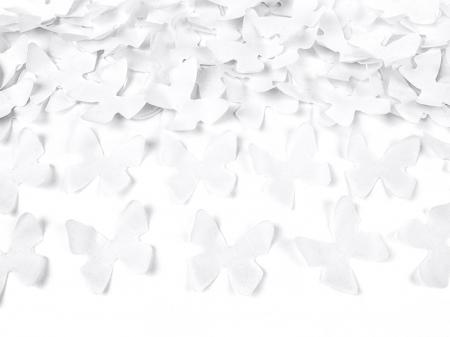 Tun Confetti Fluturi Albi 60 cm [2]