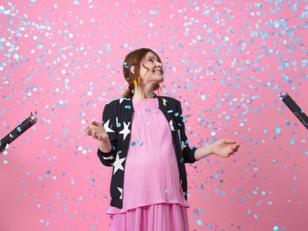 Tun Confetti Gender Reveal Baiat, 60 cm [4]