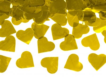 Tun Confetti Inimi Aurii, 60 cm1