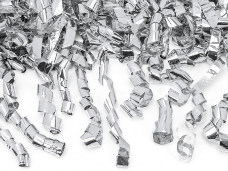 Tun Confetti Panglici, Argintiu, 80 cm [2]