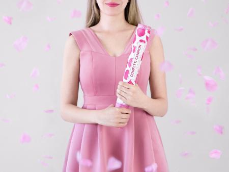 Tun Confetti Petale Roz 40 cm [3]