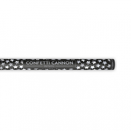 Tun Confetti Stele Argintii 80 cm [2]
