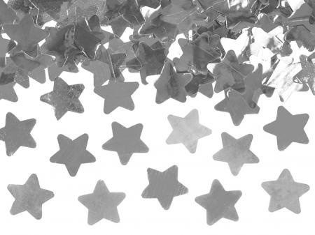 Tun Confetti Stele, Argintiu, 60 cm [3]