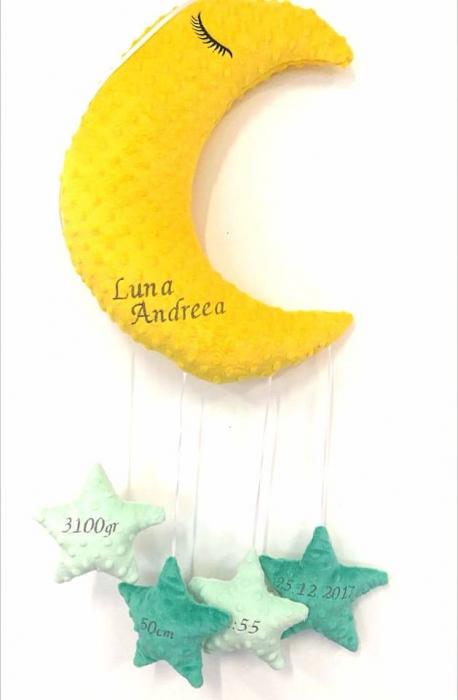 Paturica fermecata luna cu accesorii 0
