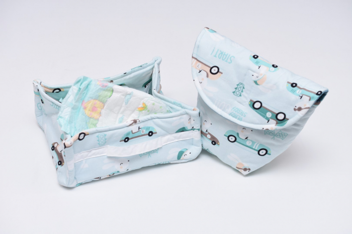Set organizatoare scutece bebe  model 15 0