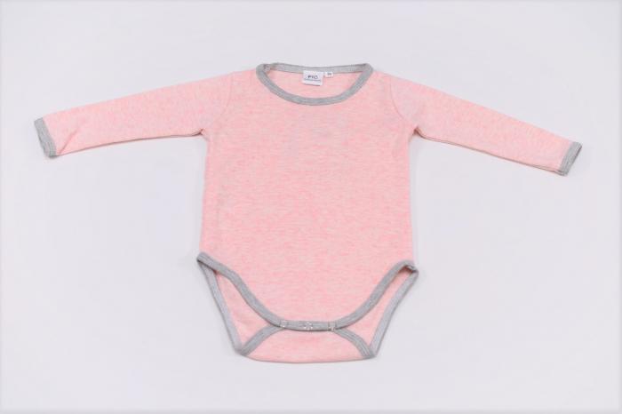 Body fetite roz cu margini gri 1