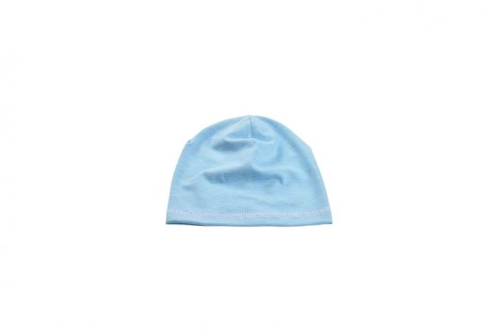 Caciulita bumbac organic bleu [0]
