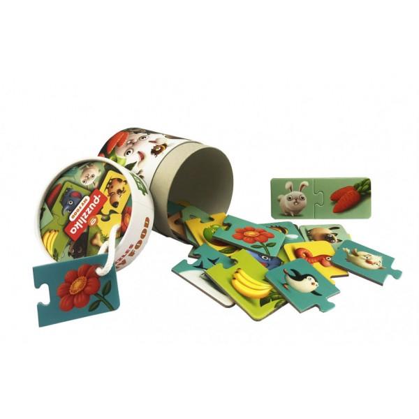 Puzzle Cubika, Ce Mananca 1