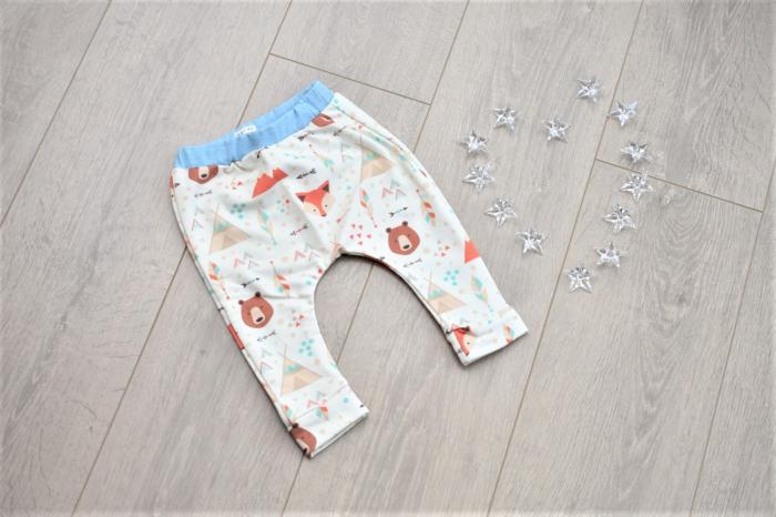 Pantaloni model animalute 0