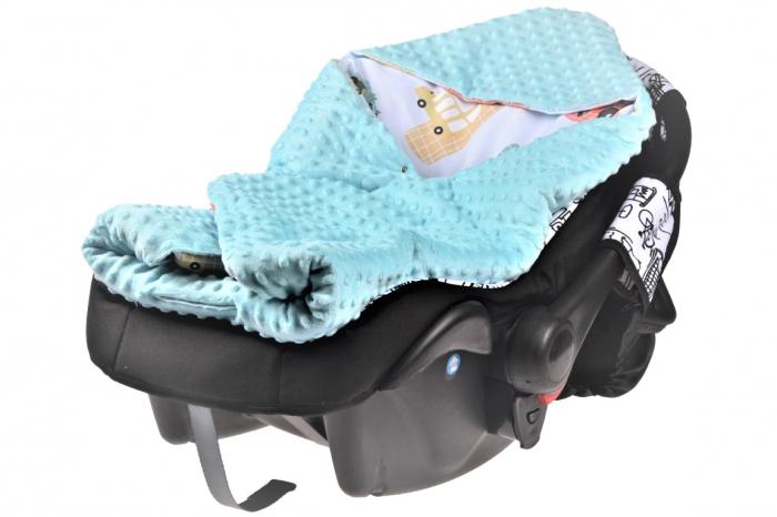 Paturica scaun auto model masinute paturica fermecata 1
