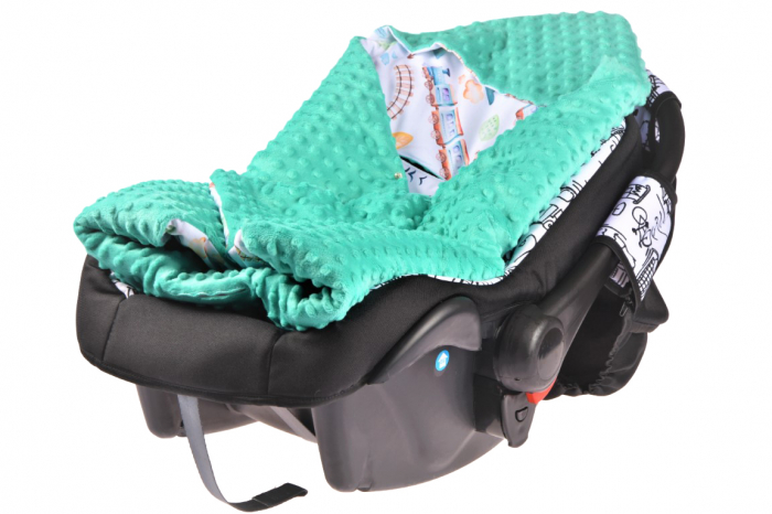 Paturica scaun auto model trenulete paturica fermecata 1