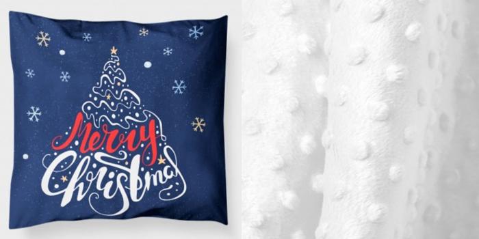 "Pernuta""Merry Christmas"" rosu [3]"
