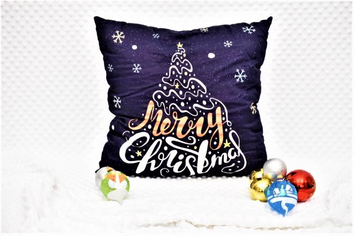 "Pernuta""Merry Christmas"" orange 1"