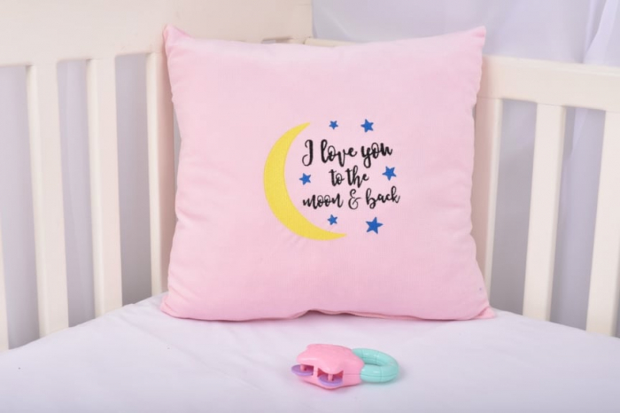 Pernuta decor Moon roz [0]