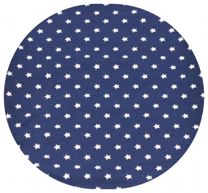 Body bleumarin cu stelute albe 2