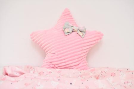 Pernuta dreptunghiulara  minky roz pudra1