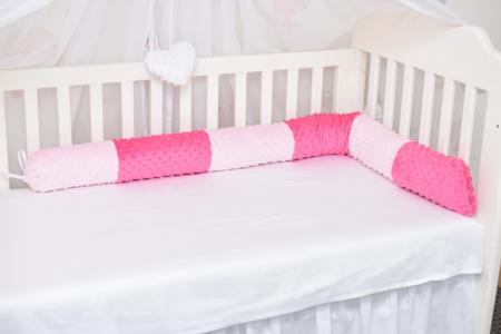 Aparatori tip rulou minky roz/fucsia [1]