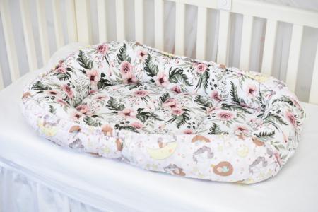 Babynest model printese si trandafiri
