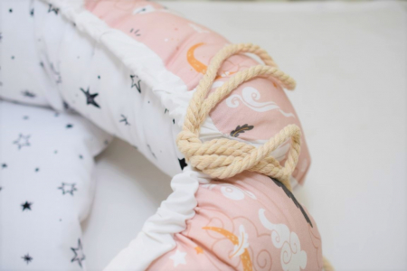 Babynest model lebede si stelute [3]