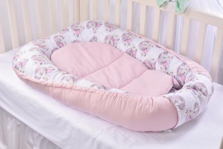 Babynest model unicorni si roz Paturica Fermecata [1]
