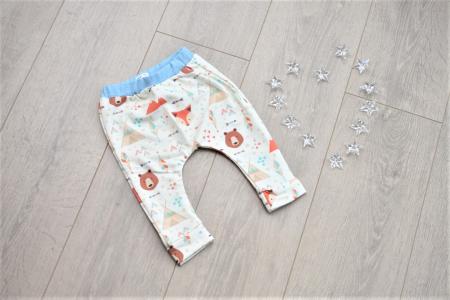 Pantaloni model animalute0