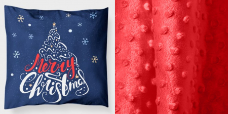 "Pernuta""Merry Christmas"" rosu [4]"