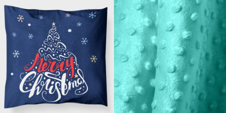 "Pernuta""Merry Christmas"" rosu [5]"