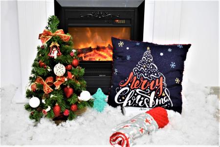 "Pernuta""Merry Christmas"" rosu"