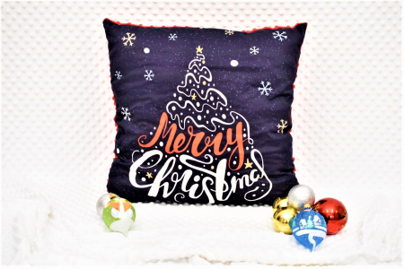 "Pernuta""Merry Christmas"" rosu [1]"