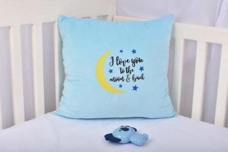 Pernuta decor Moon bleu [0]
