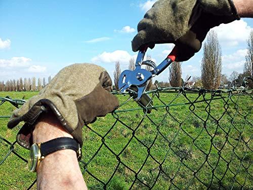 Cleste pentru legat gard cu capse rapide Regur RO-DOZ24 - 1000 capse incluse 2