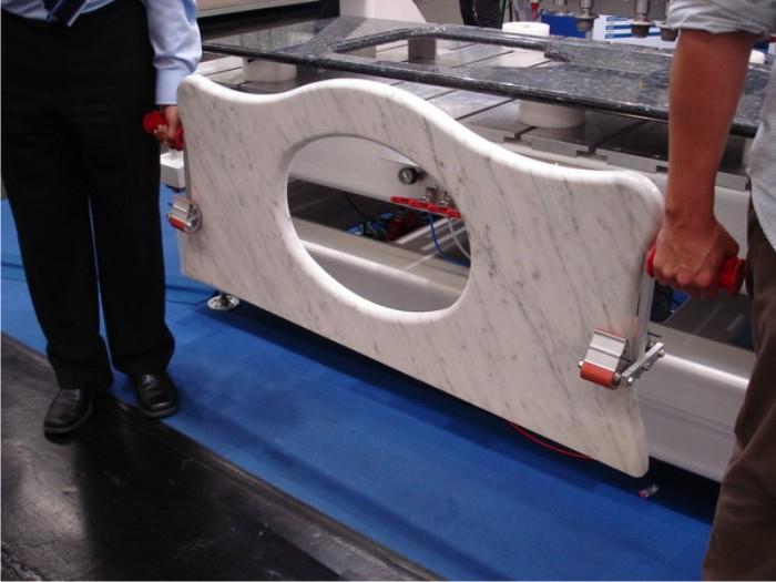 Set 2x Carrymate XL 80-160mm - Dispozitiv de ridicare/manipulare pentru suprafete plane. 3