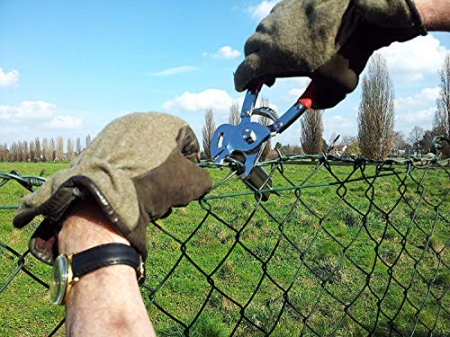 Cleste pentru legat gard cu capse rapide Regur RO-DOZ24 - 1000 capse incluse2