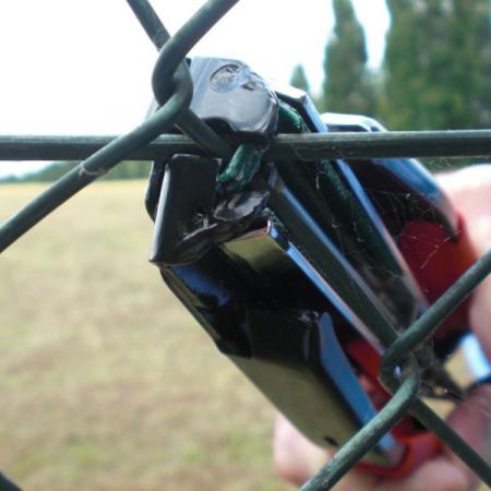 Cleste pentru legat gard cu capse rapide Regur DOZ24 - 1000 capse incluse2