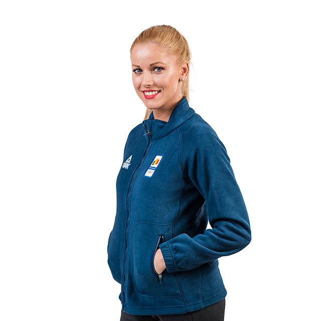 Bluza fleece PEAK Winter Olympic dama [2]