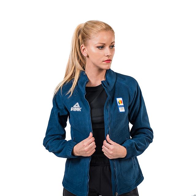 Bluza fleece PEAK Winter Olympic dama [1]