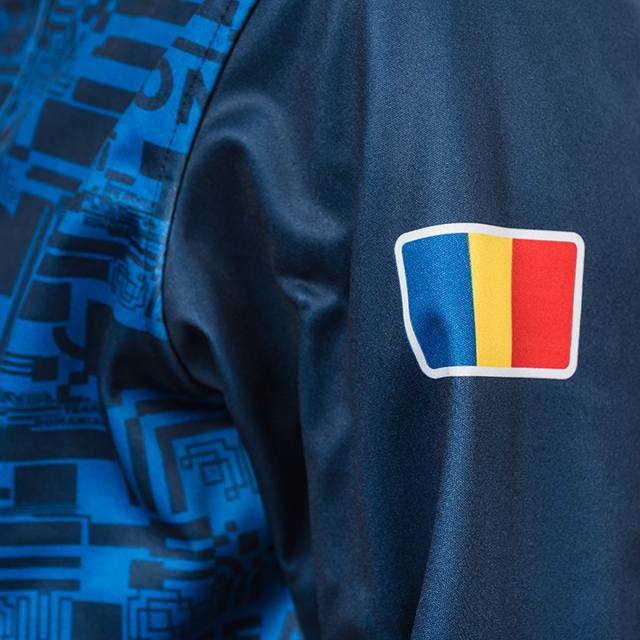 Geaca softshell TeamRomania20 albastru [2]