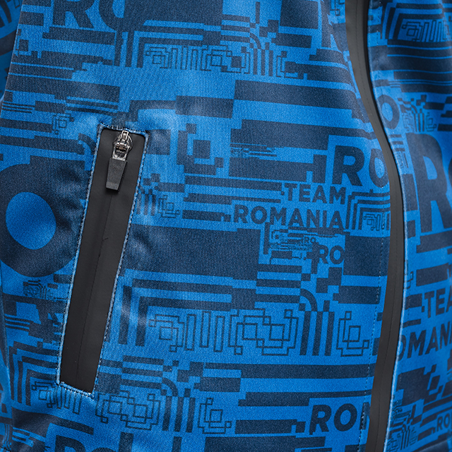 Geaca softshell TeamRomania20 albastru [4]