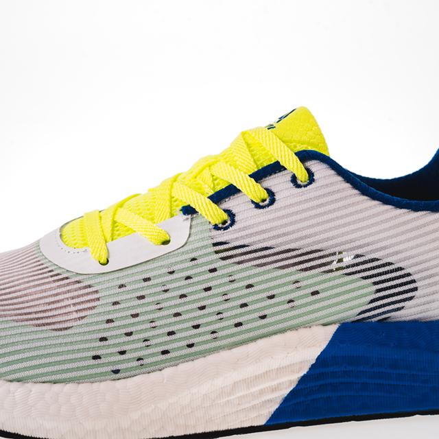 Pantofi sport alb/fluo [6]