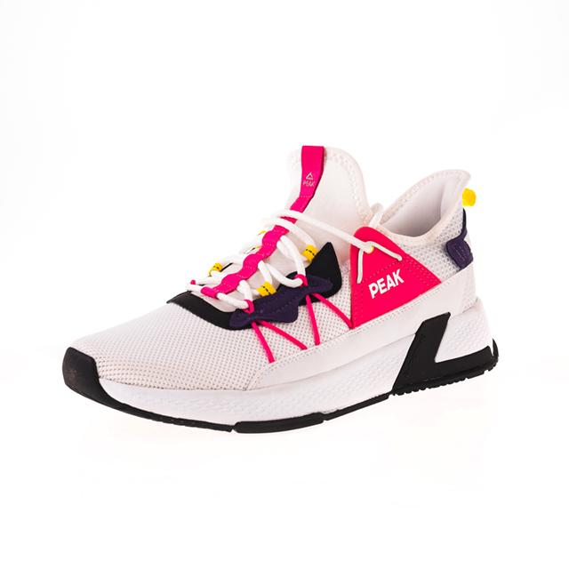 Pantofi sport Peak Casual alb/mov [0]