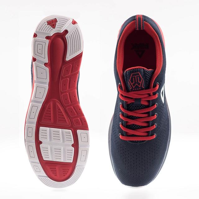 Pantofi sport PEAK Prance albastru/rosu [3]