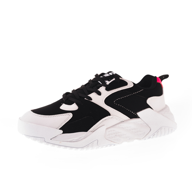 Pantofi sport Peak Retro alb/negru [0]