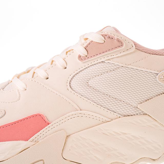 Pantofi sport Peak Retro alb/roz [6]