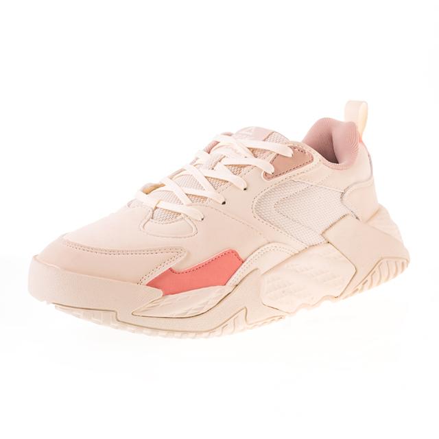 Pantofi sport Peak Retro alb/roz [0]