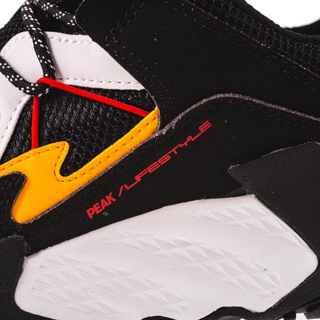 Pantofi sport Peak Retro negru/alb [6]