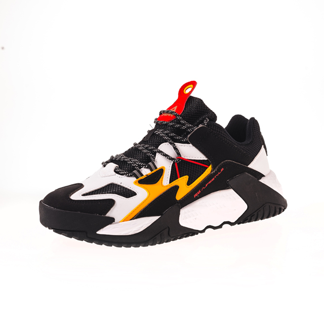 Pantofi sport Peak Retro negru/alb [0]