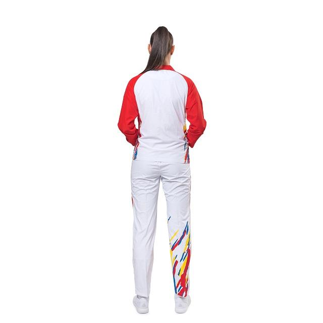 Trening Podium Feminin PEAK TeamROmania19 alb/rosu [5]
