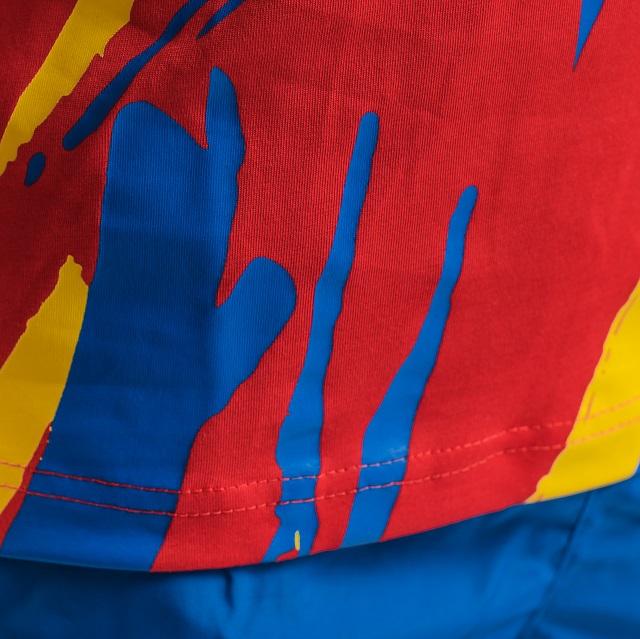 Tricou bumbac Masculin PEAK TeamROmania19 rosu [3]