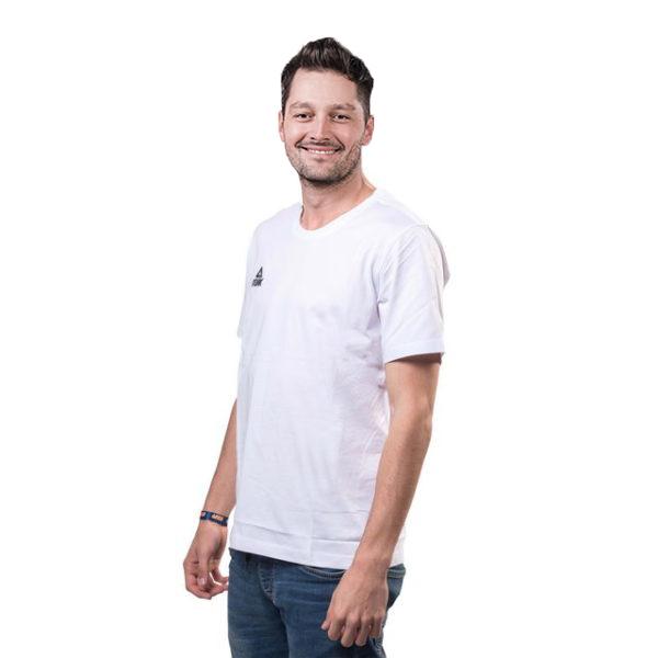 Tricou PEAK Basic alb [0]