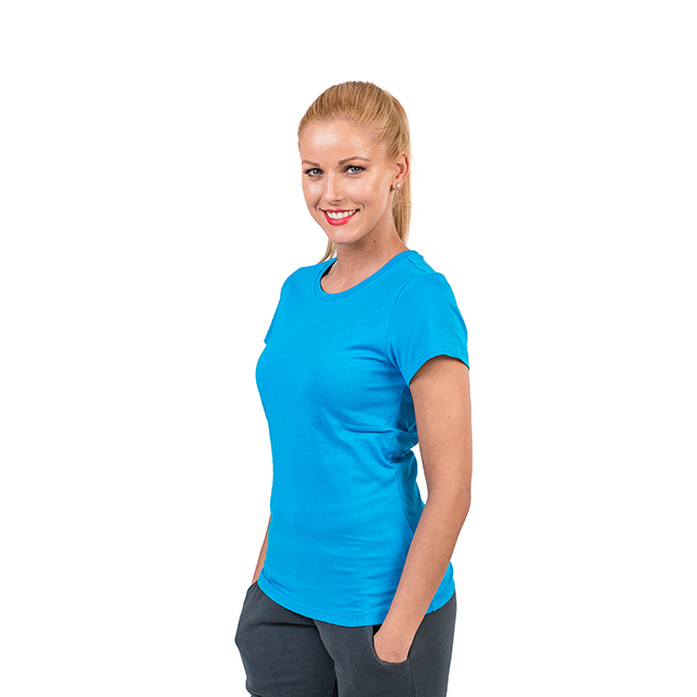 Tricou PEAK Training II dama albastru [1]